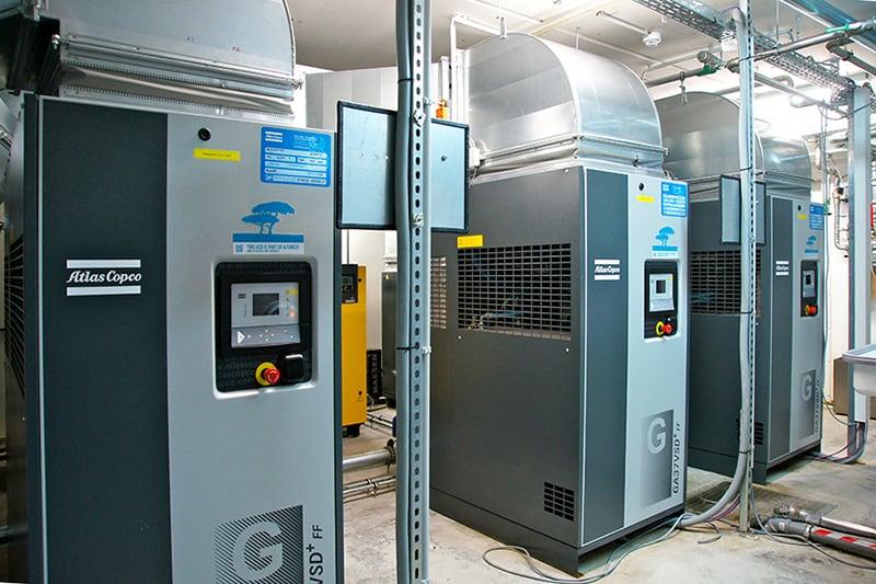Drehzahlgeregelte Kompressoren reduzieren den CO2-Fußabdruck