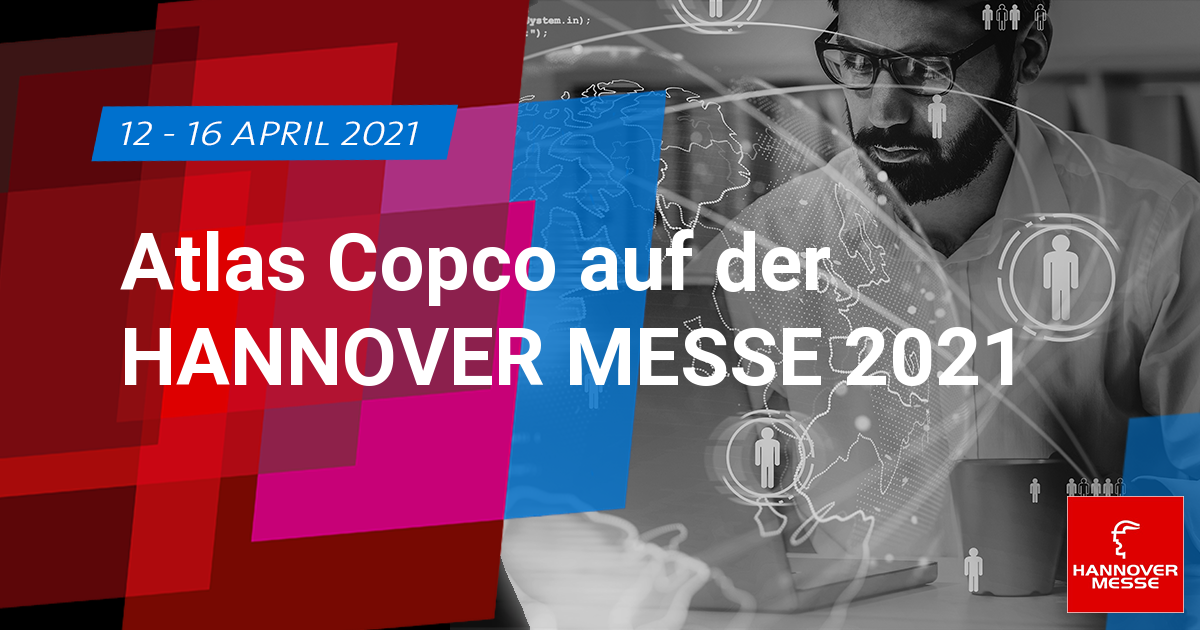 Atlas Copco Kompressoren auf der Hannover Messe 2021 ...